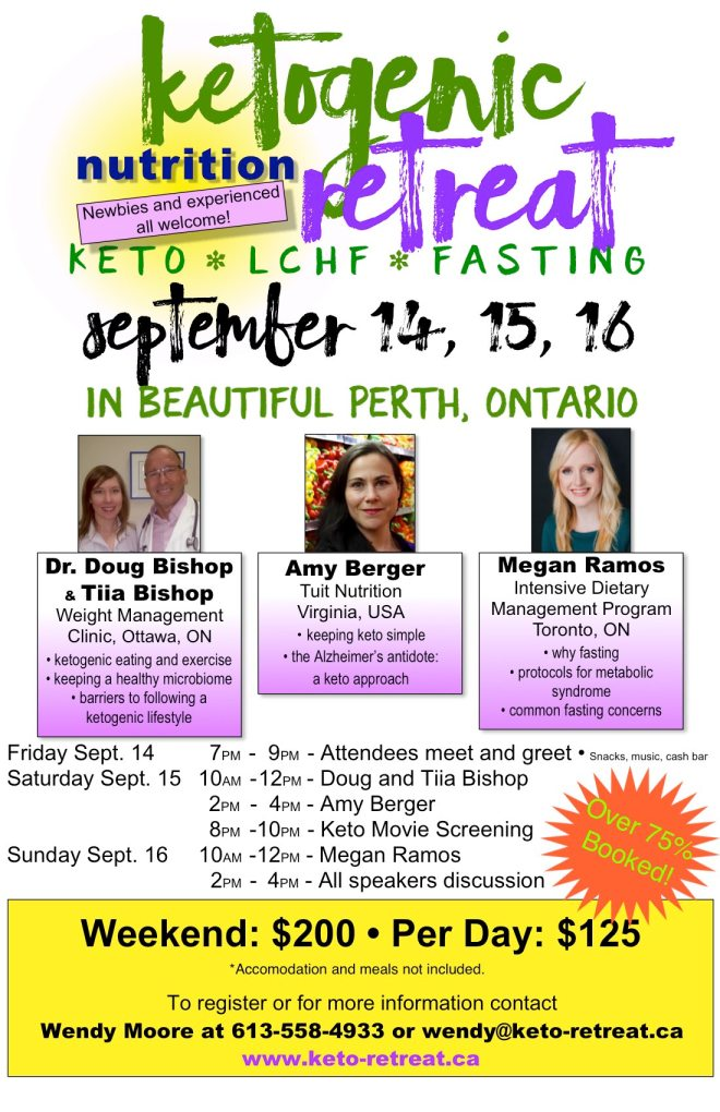 Keto POSTER w no Early Bird with over 75%