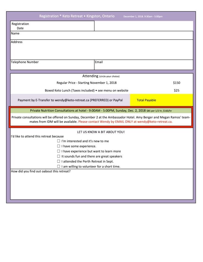 Kingston Keto Registration