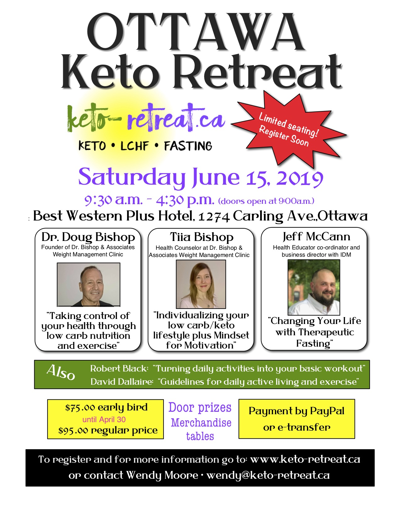 Ottaw retreat poster
