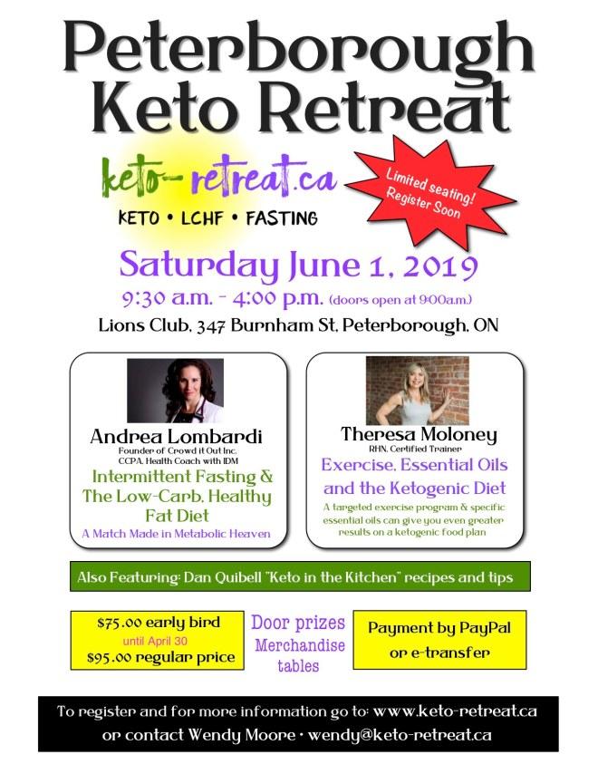 peterborough retreat poster